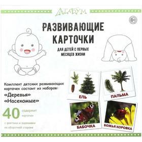Деревья и насекомые (40 карточек). Доман Г.