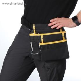 Поясная сумка для садового инструмента, на ремне, 3 кармана Ош