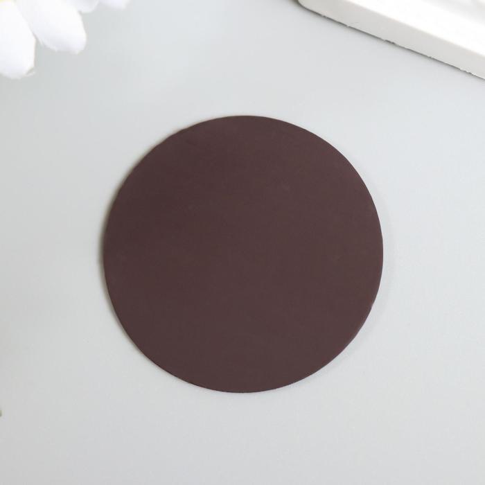 Магнит технический виниловый круглый 40х40х1,3 мм