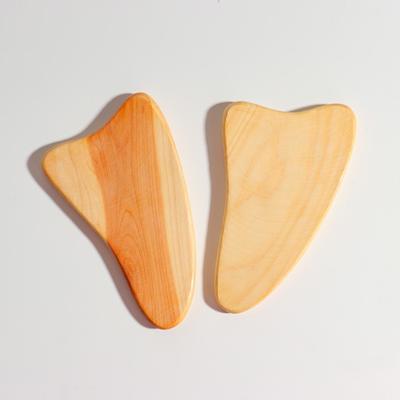 Пластина -скребок для массажа Гуаша, можжевельник
