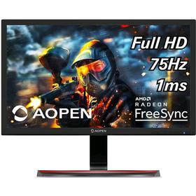 """Монитор Acer Aopen 27MX1bii 27"""", TN, 1920x1080, 75Гц, 1мс, VGA, HDMI, чёрный"""