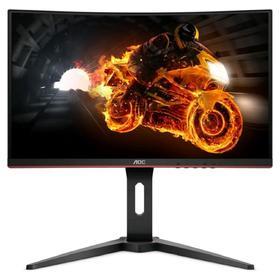 """Монитор AOC  Gaming C24G1 23.6"""", VA, 1920x1080, 144Гц, 4мс, HDMI, Dport, чёрный"""