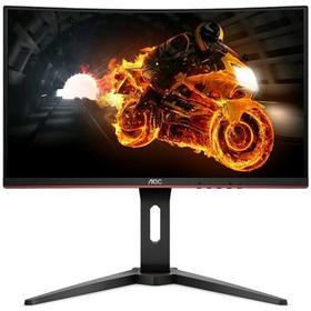 """Монитор AOC Gaming C27G1 27"""", MVA, 1920x1080, 144Гц, 1мс, HDMI, Dport, чёрный"""