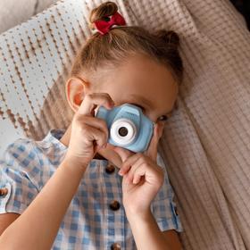 Фотоаппарат детский, синий, 8 х 6 см Ош