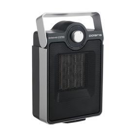 Тепловентилятор Polaris PCDH 2116, напольный, керамический,1600 Вт, до 20 м2, чёрный