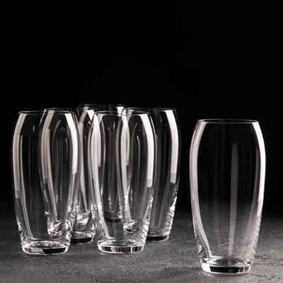 Набор стаканов для воды Carduelis, 6 шт, 470 мл