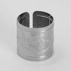"""Кольцо для салфеток """"Вензель"""" d=4,2 см толщина 0,6 мм - Фото 1"""