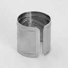"""Кольцо для салфеток """"Вензель"""" d=4,2 см толщина 0,6 мм - Фото 2"""