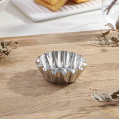 Форма для кексов 75 мл, толщина 0,25 мм - Фото 1