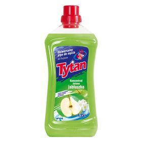 Универсальная жидкость для мытья TYTAN «Зеленое яблоко», 1, 25 л