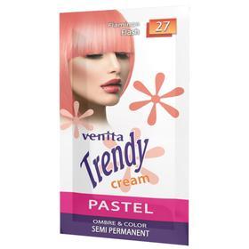 Красящий тонер-крем Venita Trendy Cream саше, 27 Розовый фламинго, 35 мл
