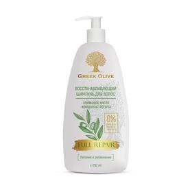 Шампунь для волос Vilsen Cosmetic Greek Olive, восстанавливающий, 750 мл
