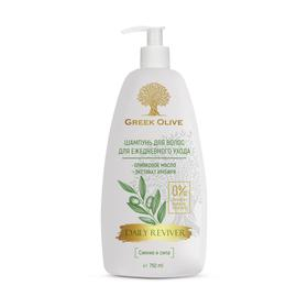 Шампунь для волос ежедневный уход Vilsen Cosmetic Greek Olive «Сияние и сила», 750 мл
