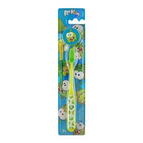 Зубная щетка Vilsen АМ НЯМ детская № 3 с декоративным колпачком