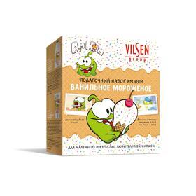 Подарочный набор Vilsen АМ НЯМ «Ванильное мороженое»: шампунь 300 мл, зубная паста 100 г