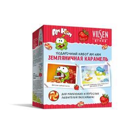 Подарочный набор Vilsen АМ НЯМ «Земляничная карамель»: шампунь, 300мл, зубная паста, 100 г