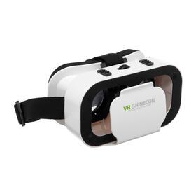 Очки виртуальной реальности VR Shinecon G05, для смартфонов 3.5-6', регулировка линз, белые Ош