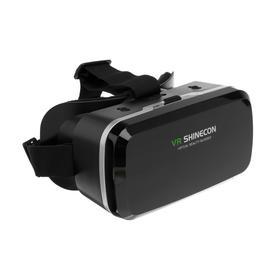 Очки виртуальной реальности VR Shinecon G04A для смартфонов 3.5-6', регулировка линз, чёрные Ош