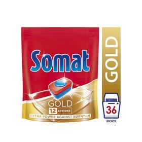Таблетки для посудомоечных машин Somat Gold, 36 шт