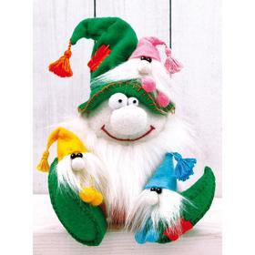 Набор для создания игрушки из фетра серия «Гномики» Гном Папуля