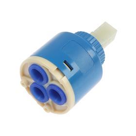 Картридж для смесителя ZEIN, d=35 мм, механизм керамика, корпус пластик