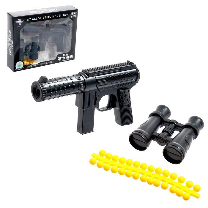 Автомат «Штурм», стреляет силиконовыми пульками, МИКС