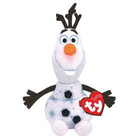 Мягкая игрушка «Снеговик Олаф», со звуком, 15 см