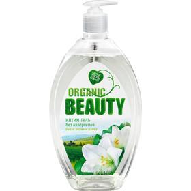 Гель для интимной гигиены Organic Beauty, белая лилия и олива, 500 мл