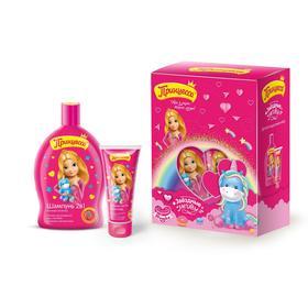 Подарочный набор «Принцесса. Звёздные мечты»: шампунь 2 в 1, 300 мл + зубная паста, 65 г