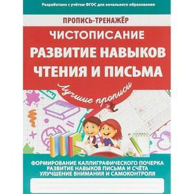 Развитие навыков чтения и письма. Пилецкий В.