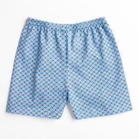 Трусы для мальчика, цвет голубой/пиксели, рост 98 см