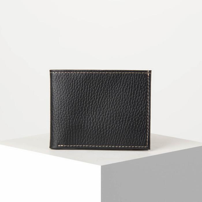 Портмоне, 1 отдел, карманы для карт, цвет чёрный