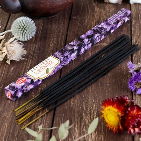 Благовония 'HEM Precious Lavender' (Драгоценная лаванда), четырехгранник, 8 палочек Ош