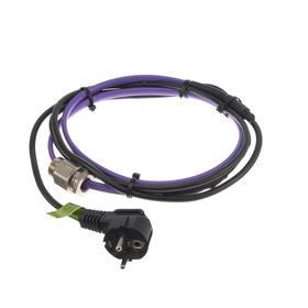 Саморегулирующийся греющий кабель 'Обогрев Люкс', в трубу с сальником, 15 Вт/м, 1 м Ош
