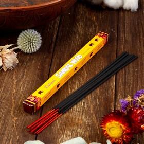 Благовония 'Tulasi Sarathi Sandal Wood' (Сандал), четырехгранник, 8 палочек Ош