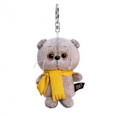 Мягкая игрушка-брелок «Басик в шарфике» 12 см - Фото 1