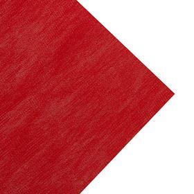 Ткань Новогодняя Красная однотонная, ширина 150 см Ош