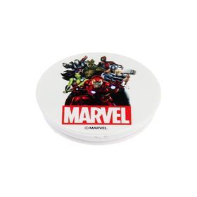 Попсокет Red Line, держатель телефона на палец, белый, Marvel дизайн №30