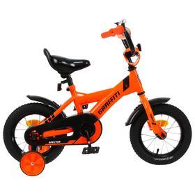 Велосипед 12' Graffiti Spector, цвет неоновый красный Ош