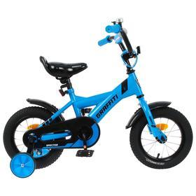 Велосипед 12' Graffiti Spector, цвет неоновый синий Ош