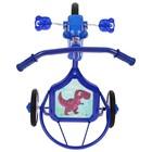 """Велосипед трёхколёсный Micio TR-311, колёса 8""""/6"""", цвет красный, голубой, розовый, зелёный, синий, жёлтый - Фото 3"""