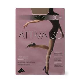 Колготки женские Omsa Attiva, 30 den, размер 2, цвет daino