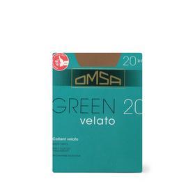 Колготки женские Omsa Green, 20 den, размер 4, цвет beige