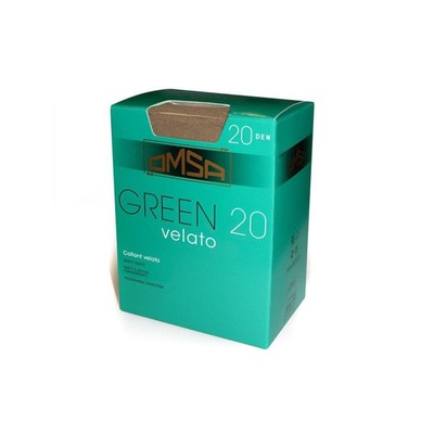Колготки женские Omsa Green, 20 den, размер 2, цвет caramello