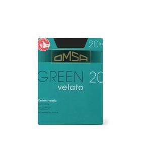 Колготки женские Omsa Green, 20 den, размер 2, цвет nero