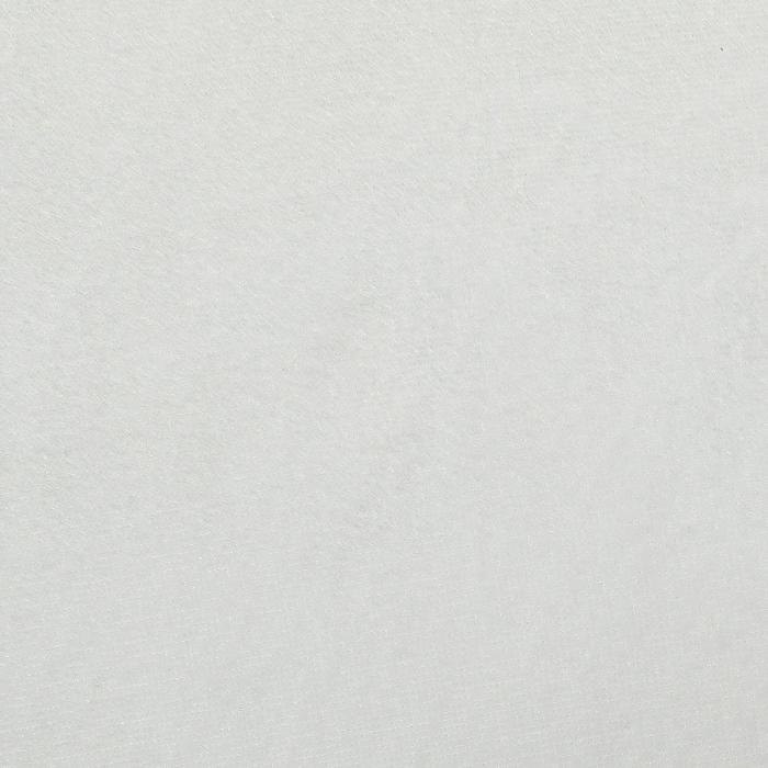 """Ворсовая ткань """"Плюш белый № 17"""", ширина 160 см"""