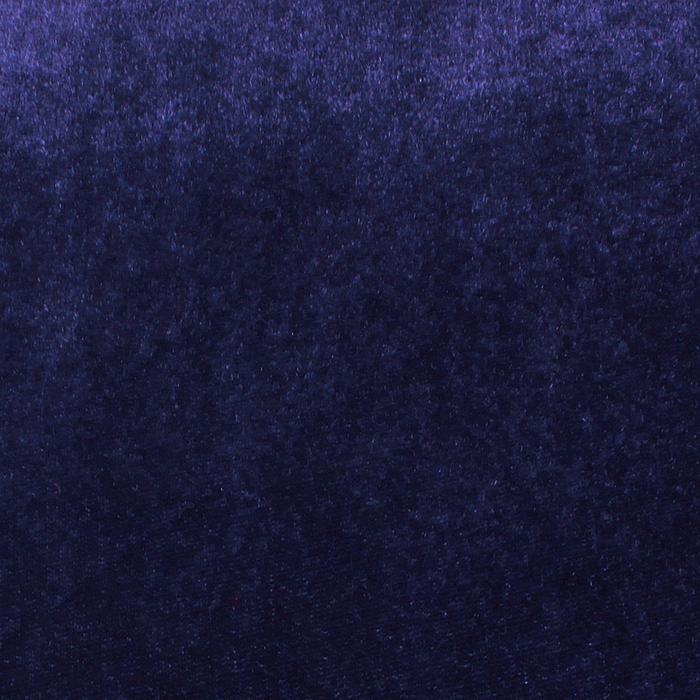 """Ворсовая ткань """"Плюш синий № 1"""", ширина 160 см"""