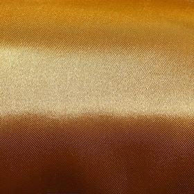 Ткань атлас однотонный золотой , ширина 150 см Ош