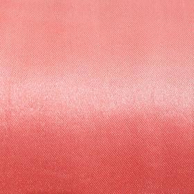 Ткань атлас однотонный коралл, ширина 150 см Ош