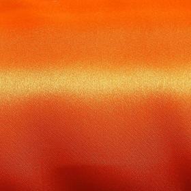 Ткань атлас однотонный оранжевый, ширина 150 см Ош